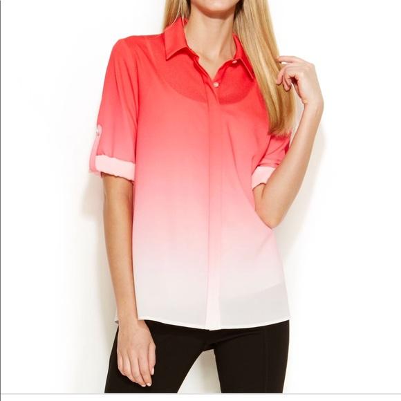 Calvin Klein Tops - Calvin Klein ombré shirt